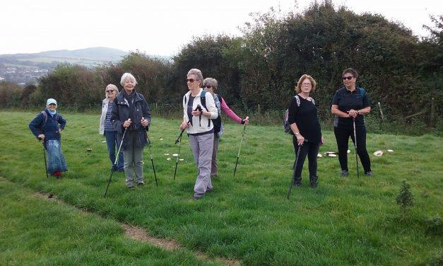 Amblers' walk to Eype in October 2017