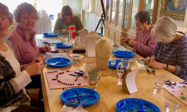 Gemstone Beaded Jewellery Design and Make Workshops with Wendy Lowis