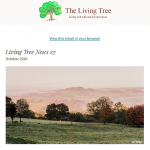 Living Tree Newsletter October 2020